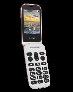 6060 Klaptelefoon (Rood-Wit)