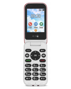 7030 - 4G Klaptelefoon (Rood-Wit)