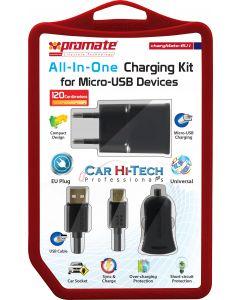 ChargMate-EU1 Alles-In-1 Oplaadkit voor Micro USB apparaten