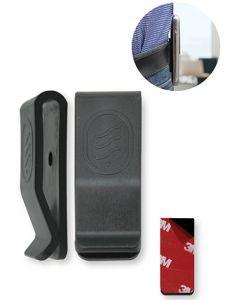 Clip-01 Universele Riemclip voor GSM's, Walkie-talkies, draadloze toestellen (1 stuk)