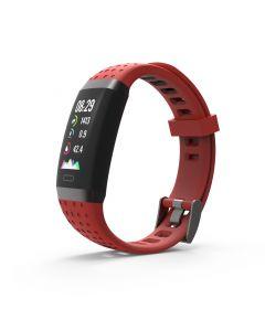 SW-380HR Smartwatch met Hartslagmeter (Rood)