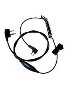 TAMT06V Kabel J22 naar 2-pin met PTT/mic/angle